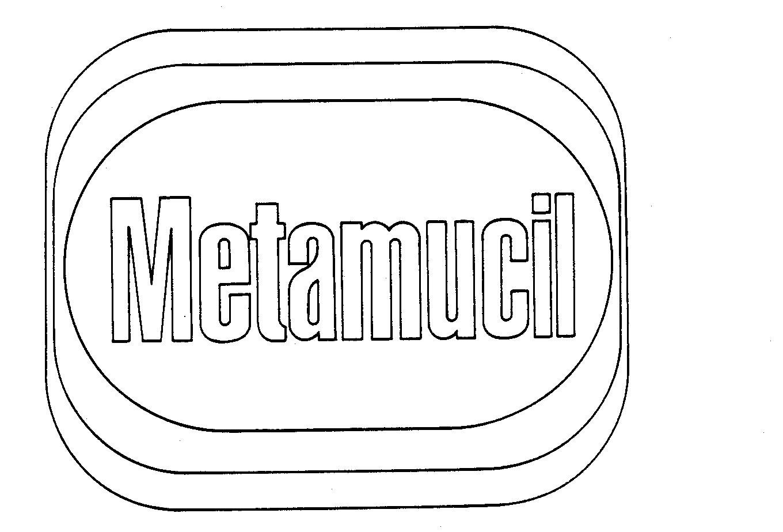 Trademark Logo METAMUCIL