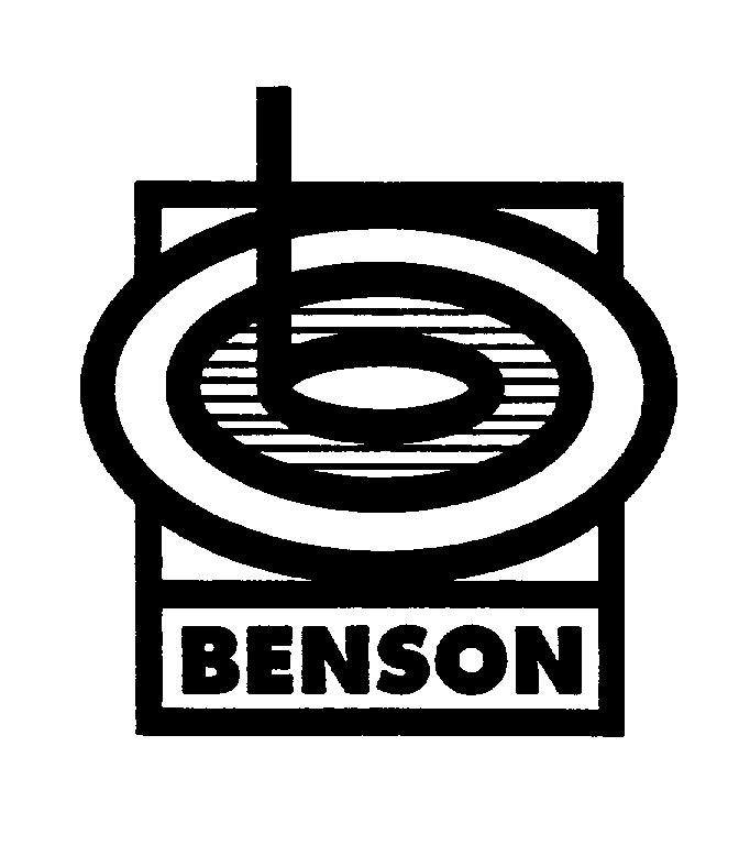Trademark Logo BENSON