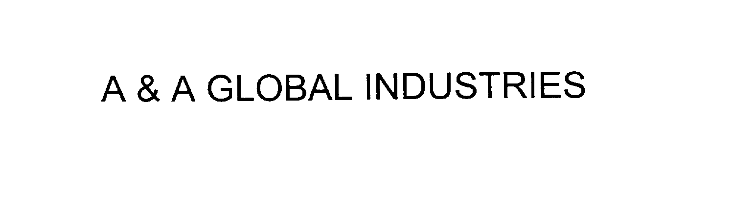 a a global industries inc trademarks logos uspto report