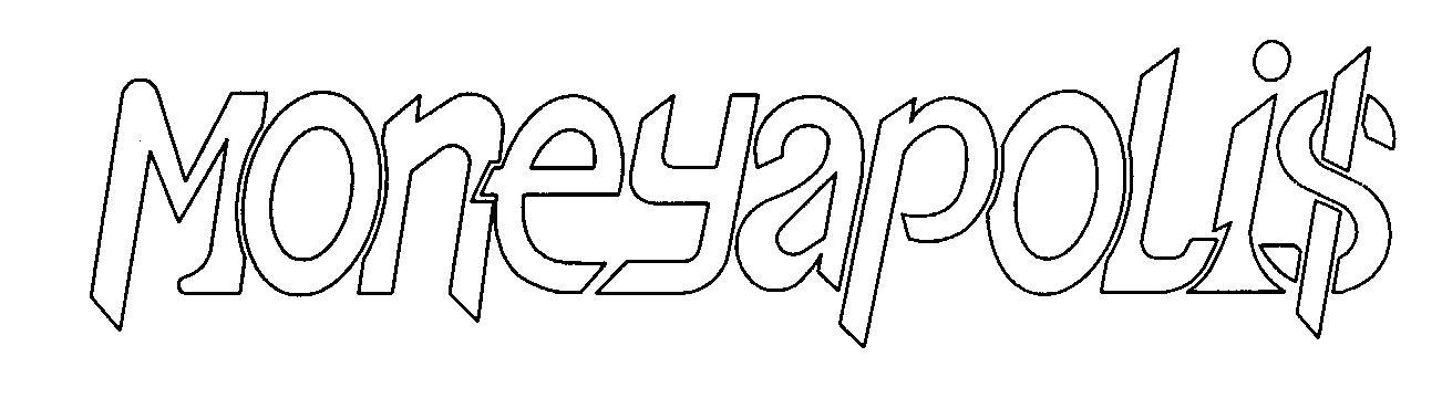 Trademark Logo MONEYAPOLIS