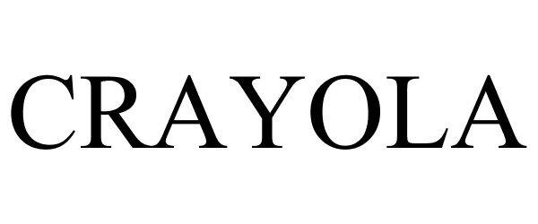 Trademark Logo CRAYOLA