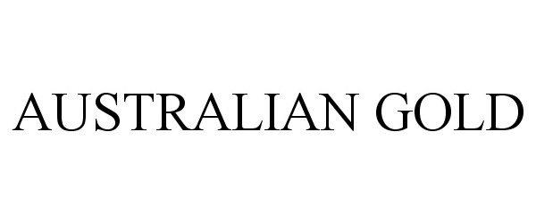 Trademark Logo AUSTRALIAN GOLD