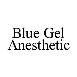 BLUE GEL ANESTHETIC
