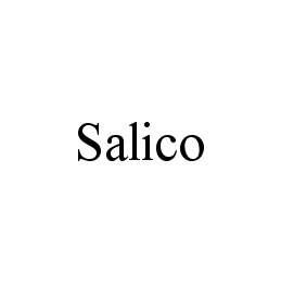 Trademark Logo SALICO