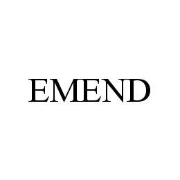 EMEND
