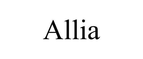 ALLIA