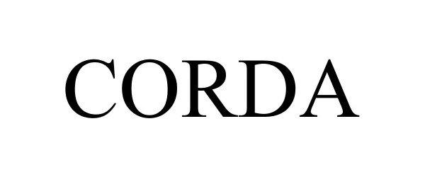 Trademark Logo CORDA