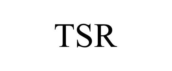 Trademark Logo TSR