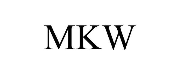 Trademark Logo MKW