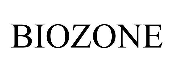 Trademark Logo BIOZONE