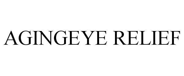 AGINGEYE RELIEF
