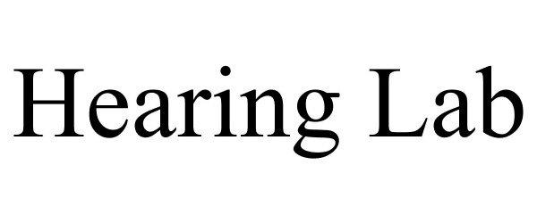 HEARING LAB