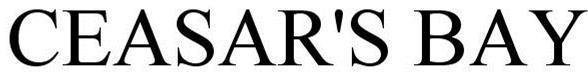 Trademark Logo CEASAR'S BAY