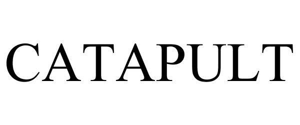 Trademark Logo CATAPULT