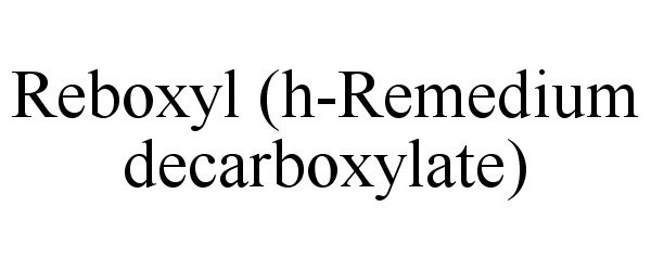 REBOXYL (H-REMEDIUM DECARBOXYLATE)