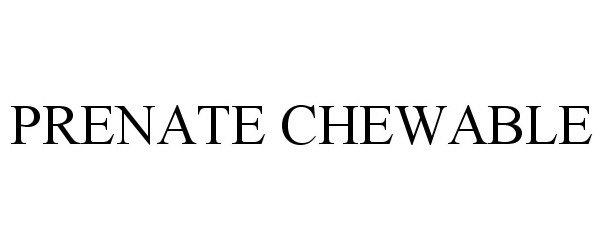 PRENATE CHEWABLE
