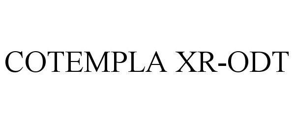 COTEMPLA XR-ODT