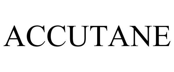 Trademark Logo ACCUTANE