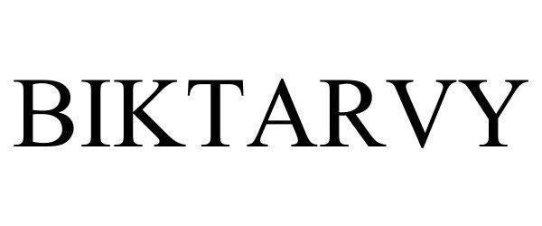 Trademark Logo BIKTARVY