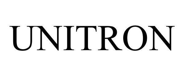Trademark Logo UNITRON