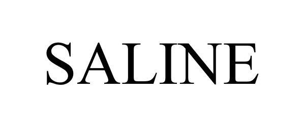 Trademark Logo SALINE
