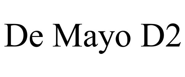DE MAYO D2