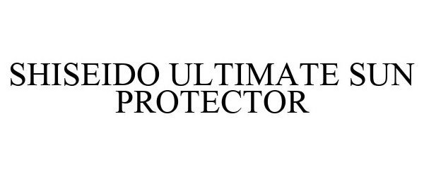 SHISEIDO ULTIMATE SUN PROTECTOR