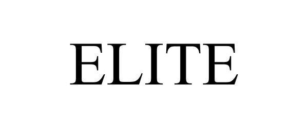 Trademark Logo ELITE