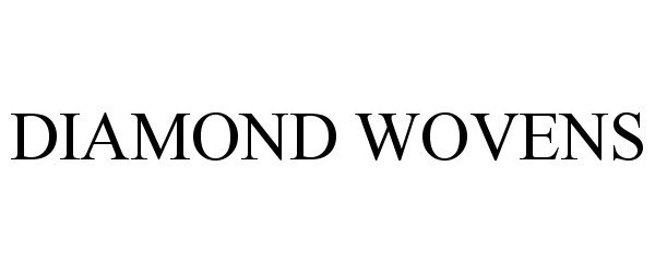 Trademark Logo DIAMOND WOVENS
