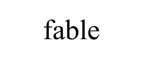 Trademark Logo FABLE