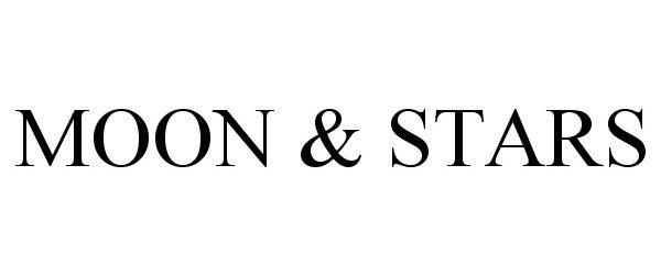 Trademark Logo MOON & STARS
