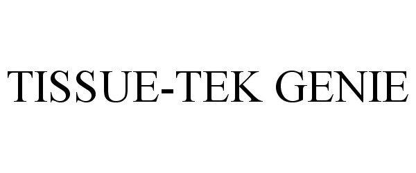 TISSUE-TEK GENIE