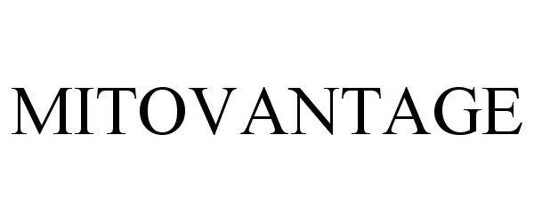 Trademark Logo MITOVANTAGE