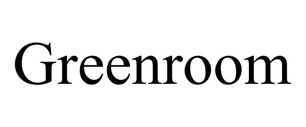 Trademark Logo GREENROOM