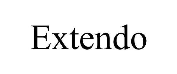 Trademark Logo EXTENDO