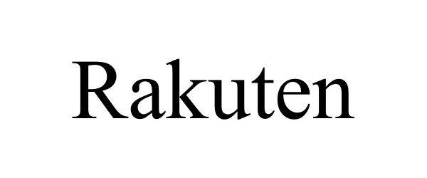Trademark Logo RAKUTEN