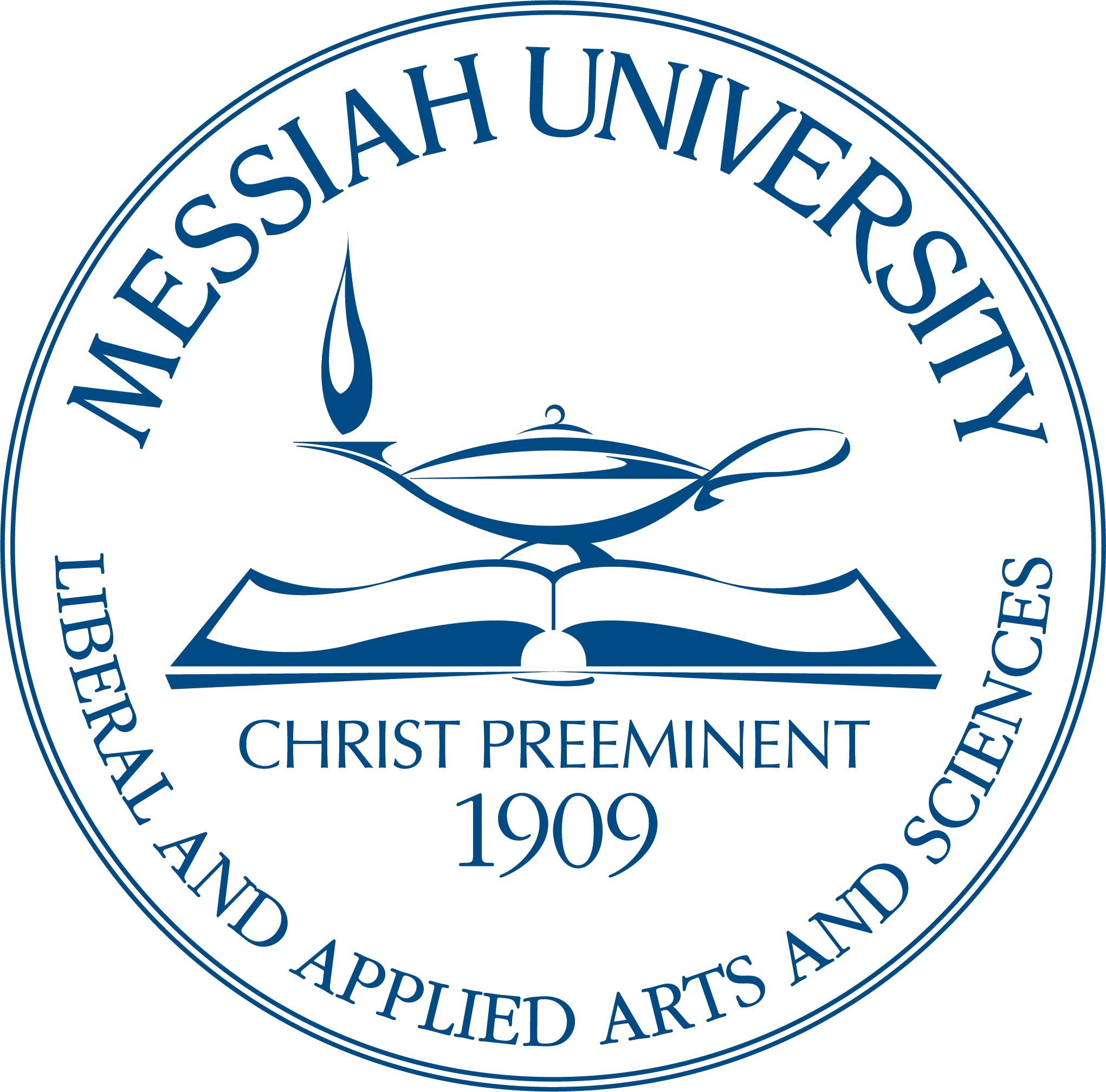 Messiah University Liberal And Applied Arts And Sciences Christ Preeminent 1909 Messiah College Trademark Registration