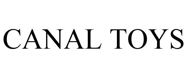 Trademark Logo CANAL TOYS
