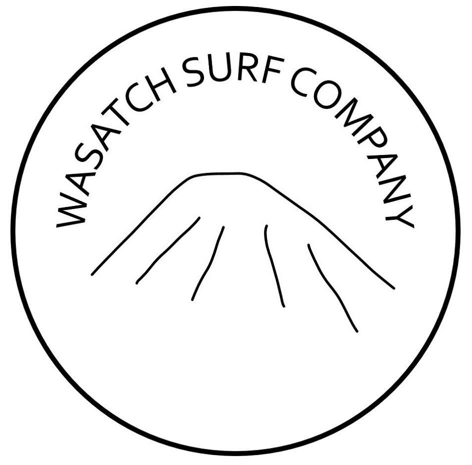 Trademark Logo WASATCH SURF COMPANY