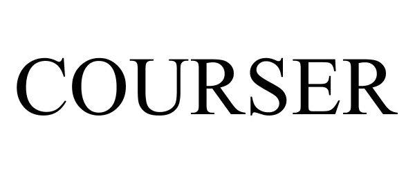 Trademark Logo COURSER