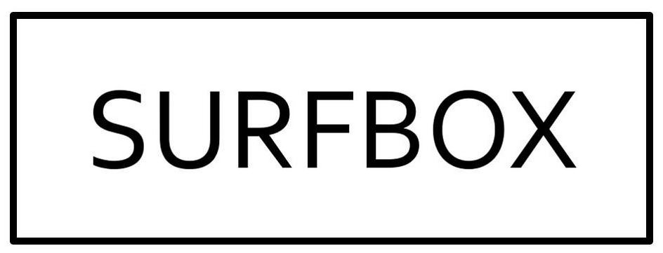 Trademark Logo SURFBOX