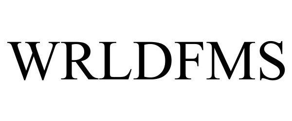 Trademark Logo WRLDFMS