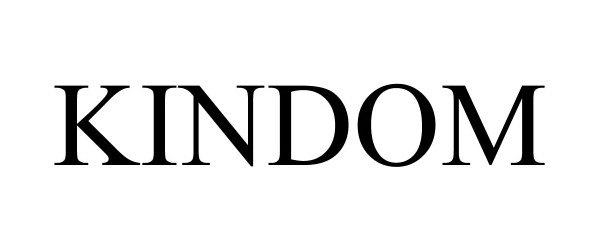 Trademark Logo KINDOM