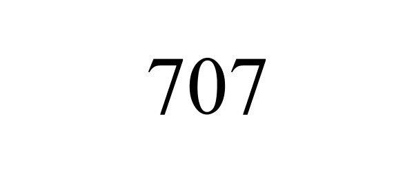Trademark Logo 707