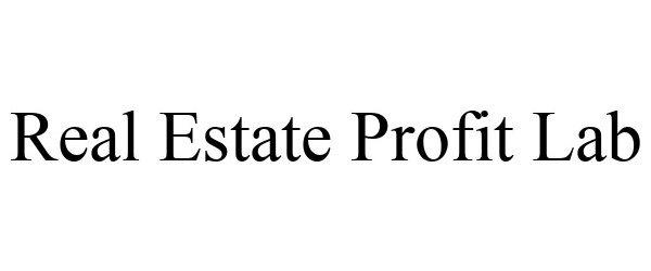 Trademark Logo REAL ESTATE PROFIT LAB