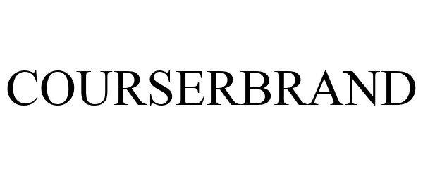 Trademark Logo COURSERBRAND