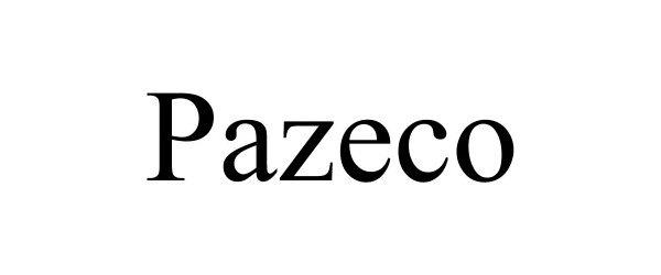 Trademark Logo PAZECO