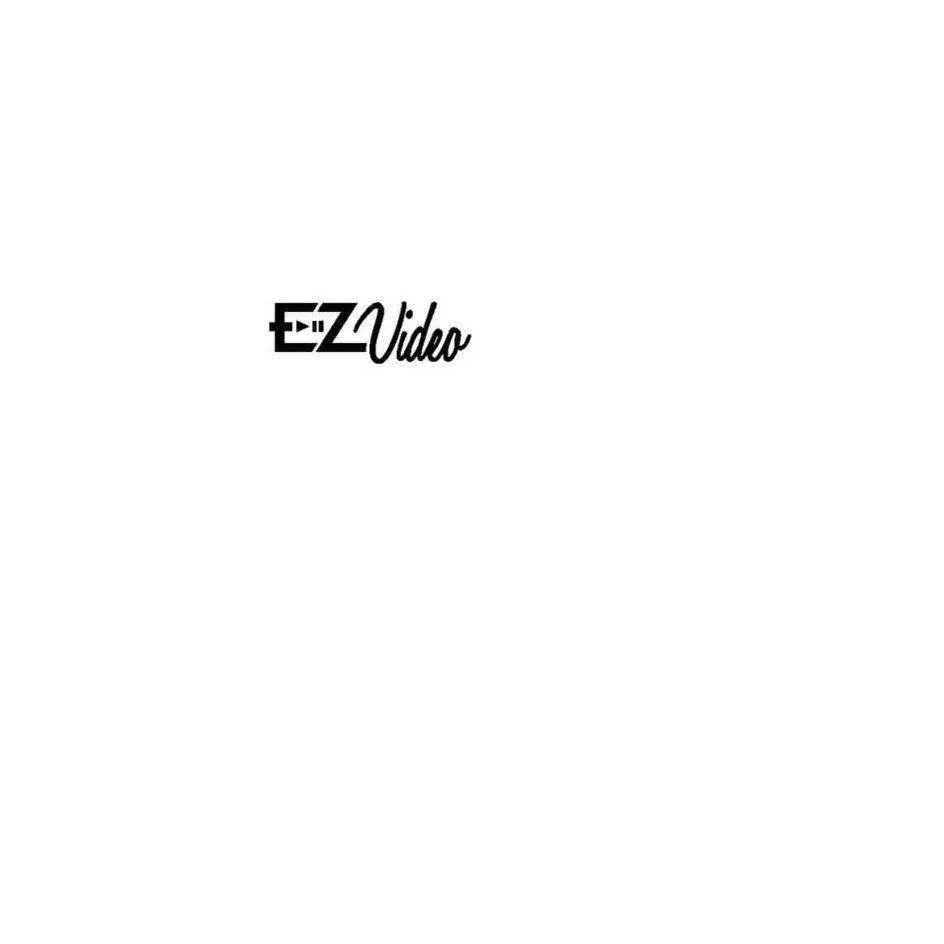 Trademark Logo EZVIDEO