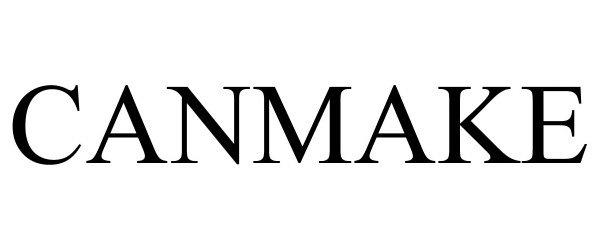 Trademark Logo CANMAKE