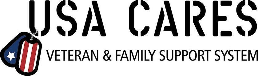 Trademark Logo USA CARES VETERAN & FAMILY SUPPORT SYSTEM
